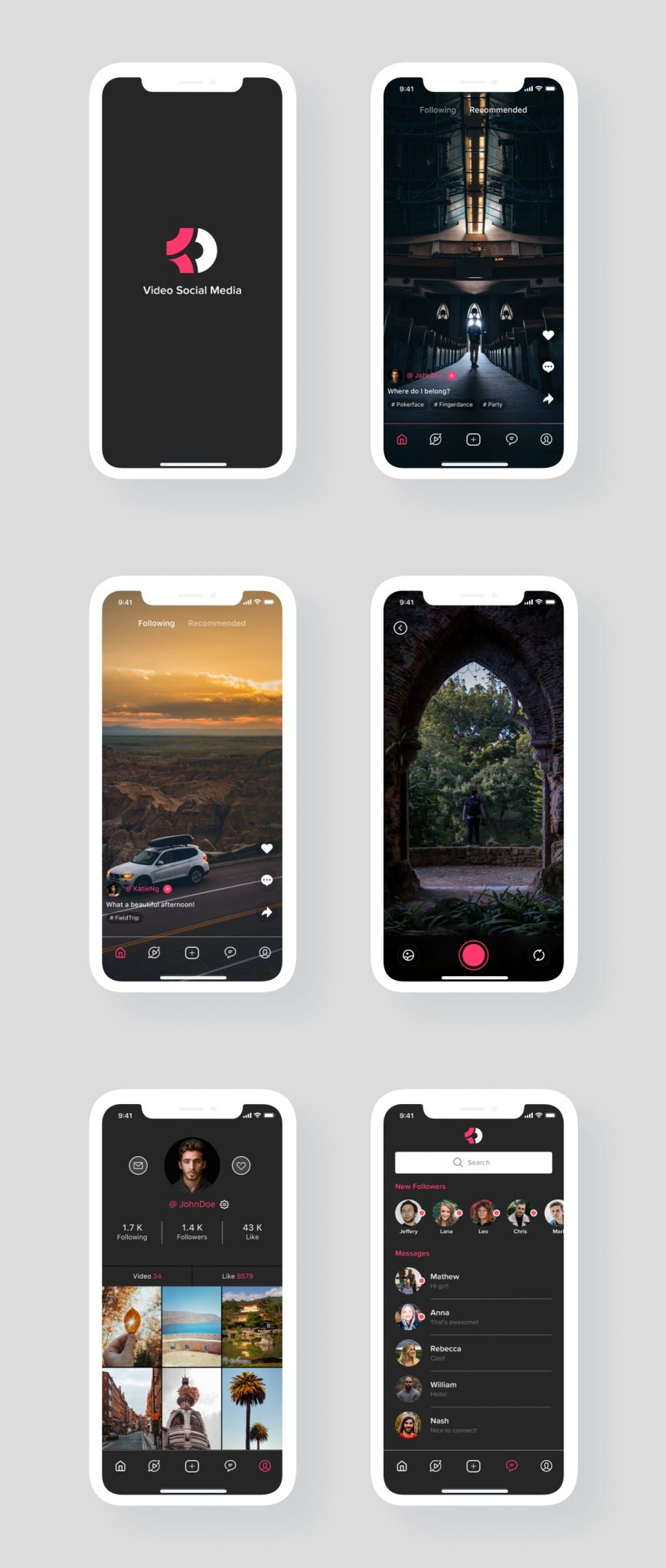 video-social-app-development