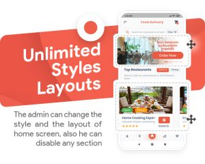 App feature: Unlimited style layout