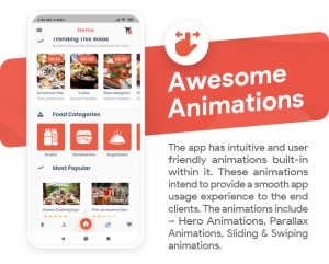 App feature: Animations
